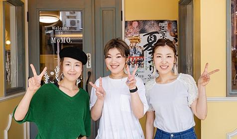 新潟県三条市美容室・美容師求人 MoMO(モモ) アシスタント・スタイリスト募集中